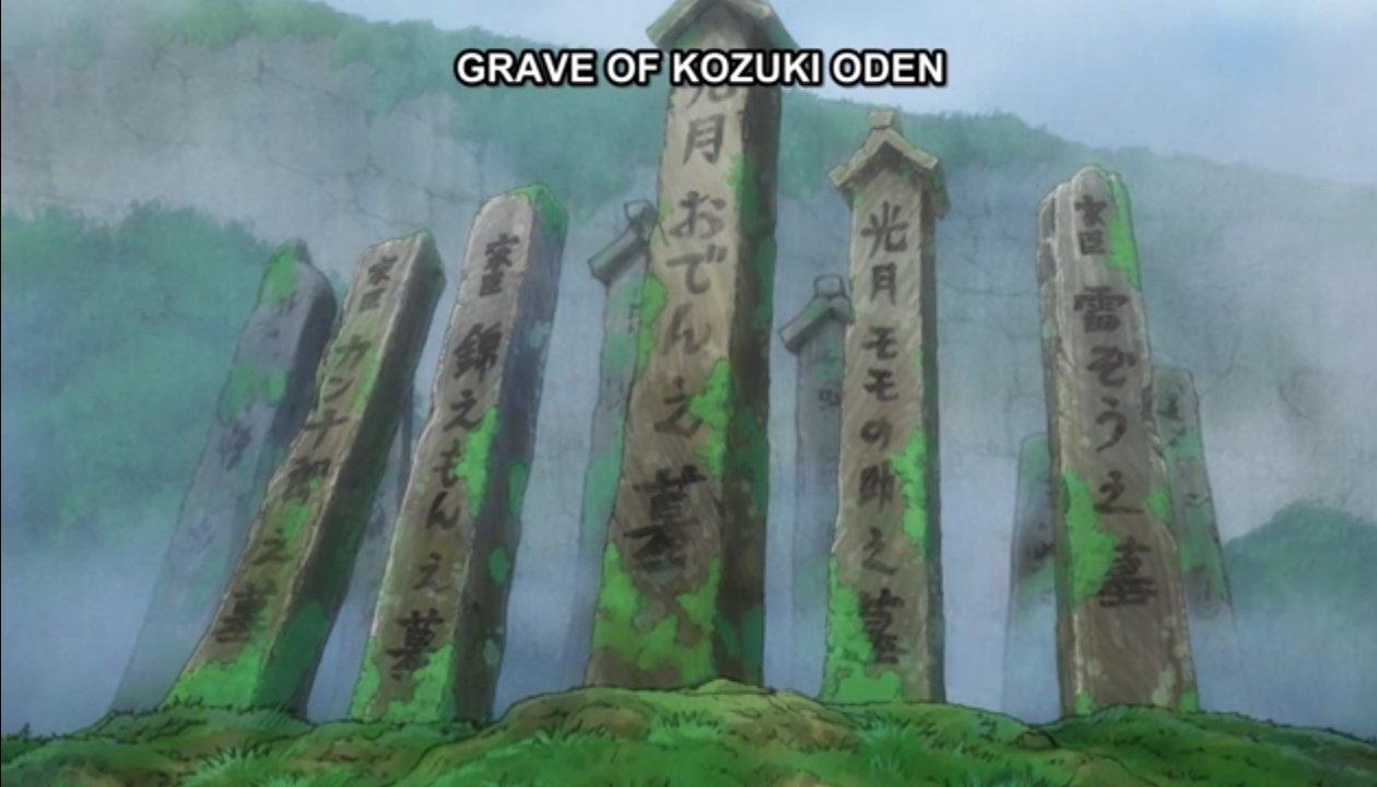 One Piece Kozuki Oden Storyline