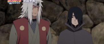 Sasuke and Jiraiya Team Up