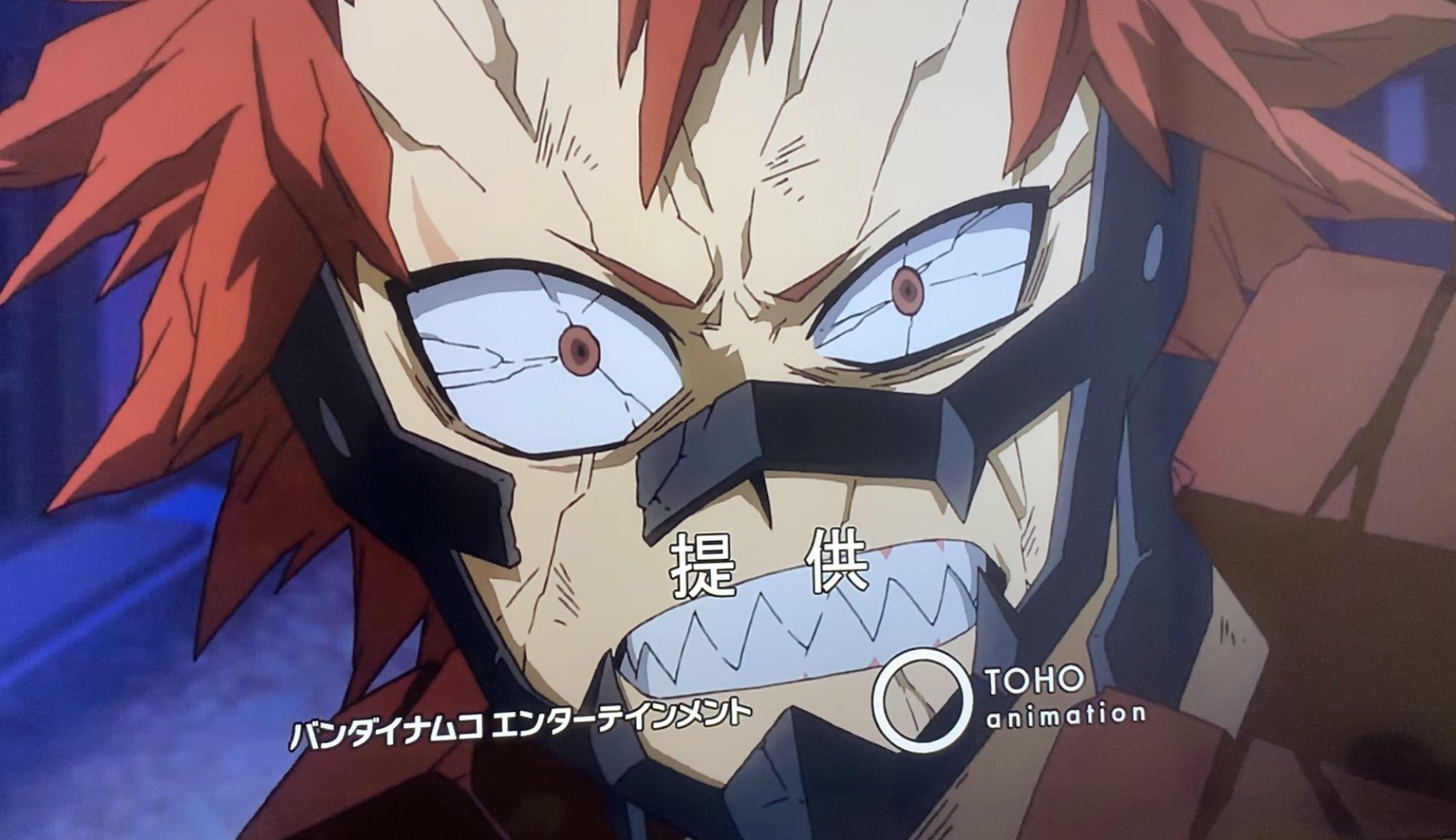 My Hero Academia Season 4 Episode 5 Red Riot Kirishima