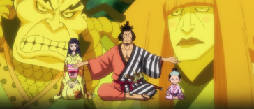 One Piece Anime Time Travel Kozuki Clan