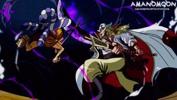 Kozuki Oden vs Whitebeard