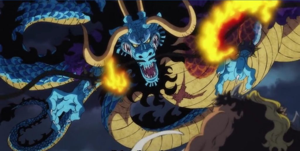 One Piece Kaido Dragon Form