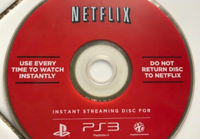 Netflix dvd rental