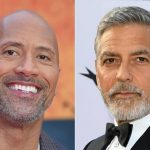 Dwayne Johnson and George Clooney My Hero Academia