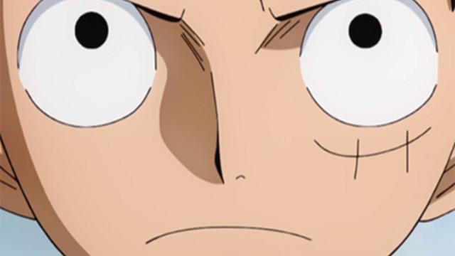 Luffy Left Eye Scar