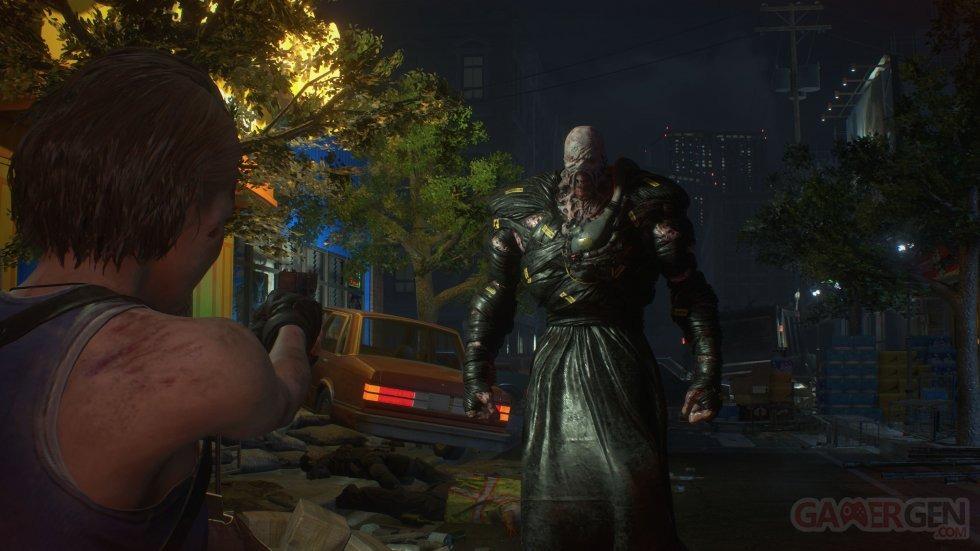 Resident Evil Leaked Nemesis Still