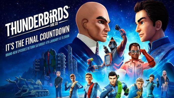 Thunderbirds Are Go season 25 episode 7 release
