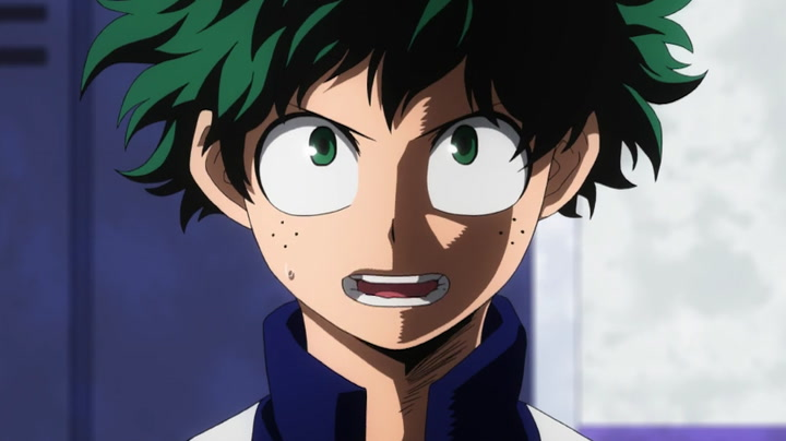 Top 10 My Hero Academia characters- Deku