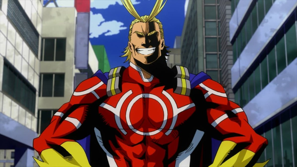 Top 10 My Hero Academia characters- One For All