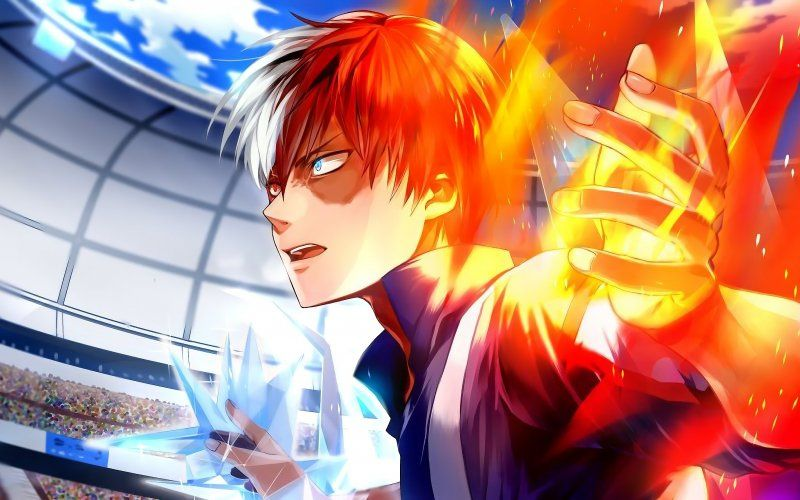 Top 10 Strongest My Hero Academia Characters- Todoroki