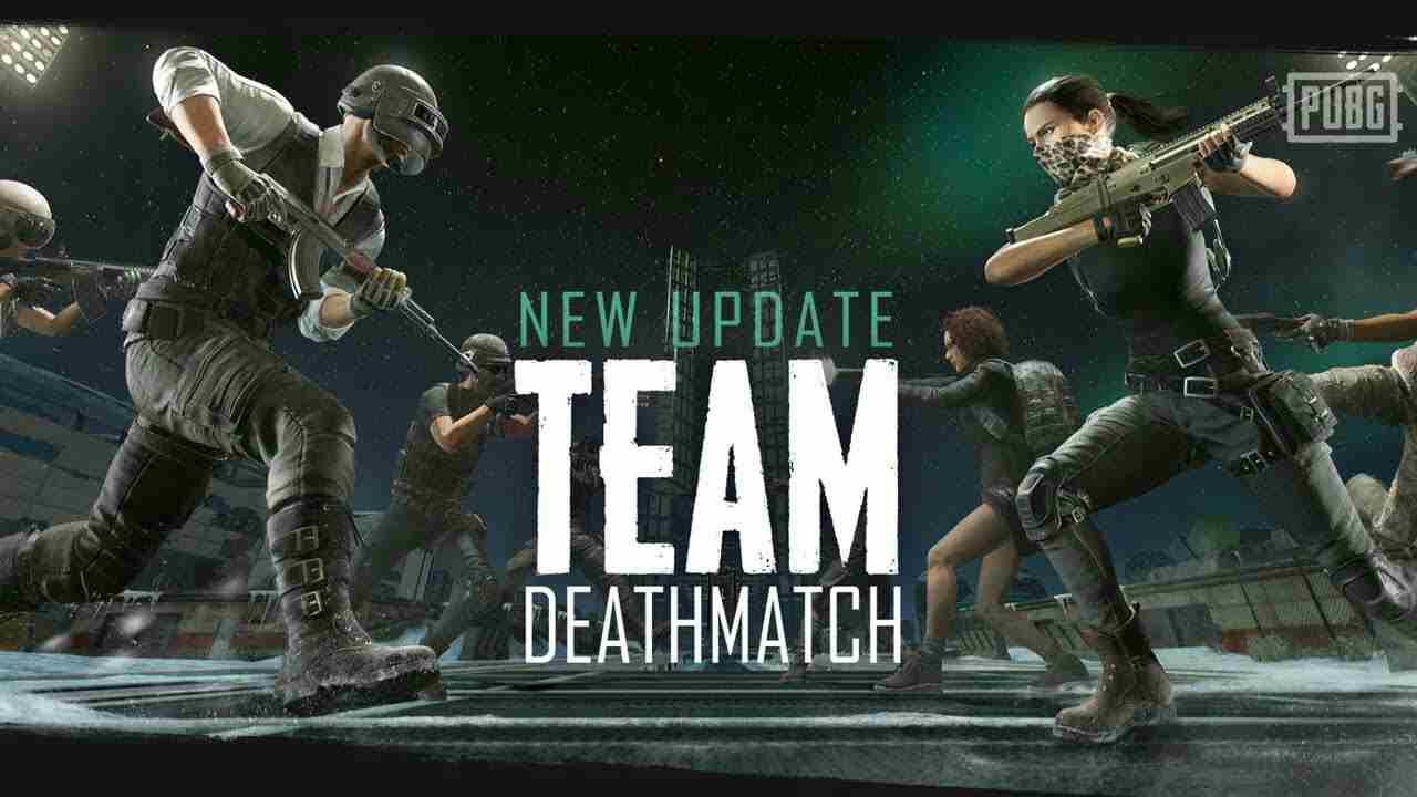 PUBG Team Deathmatch Mode patch Notes