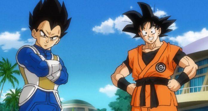 new goku and vegeta outfits