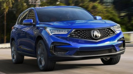 Acura DBX 2021 front exterior