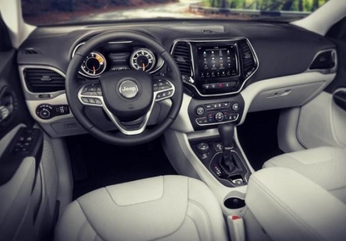 jeep interior 2021