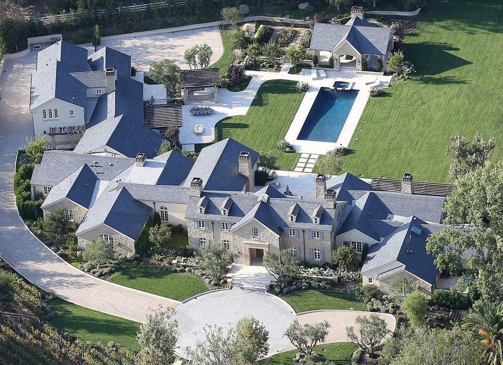 Kanye West & Kim Kardashian's Mansion.