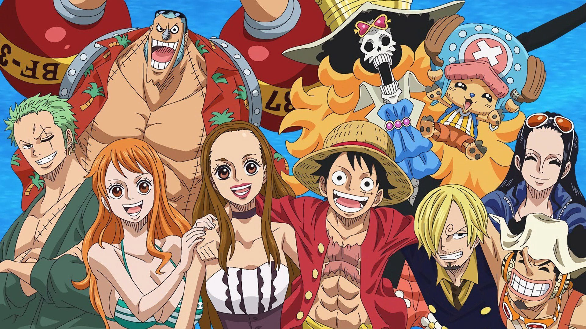 Luffy and his group