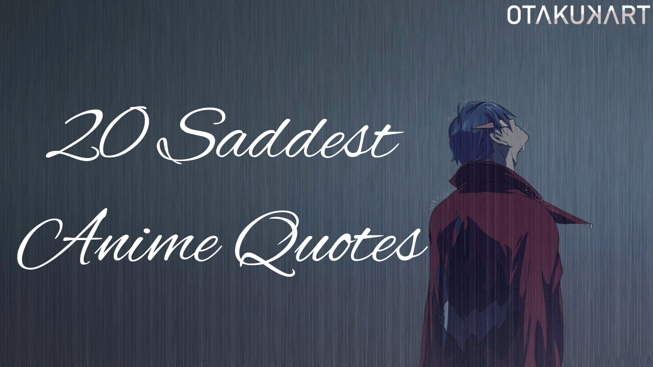 20 Anime Quotes