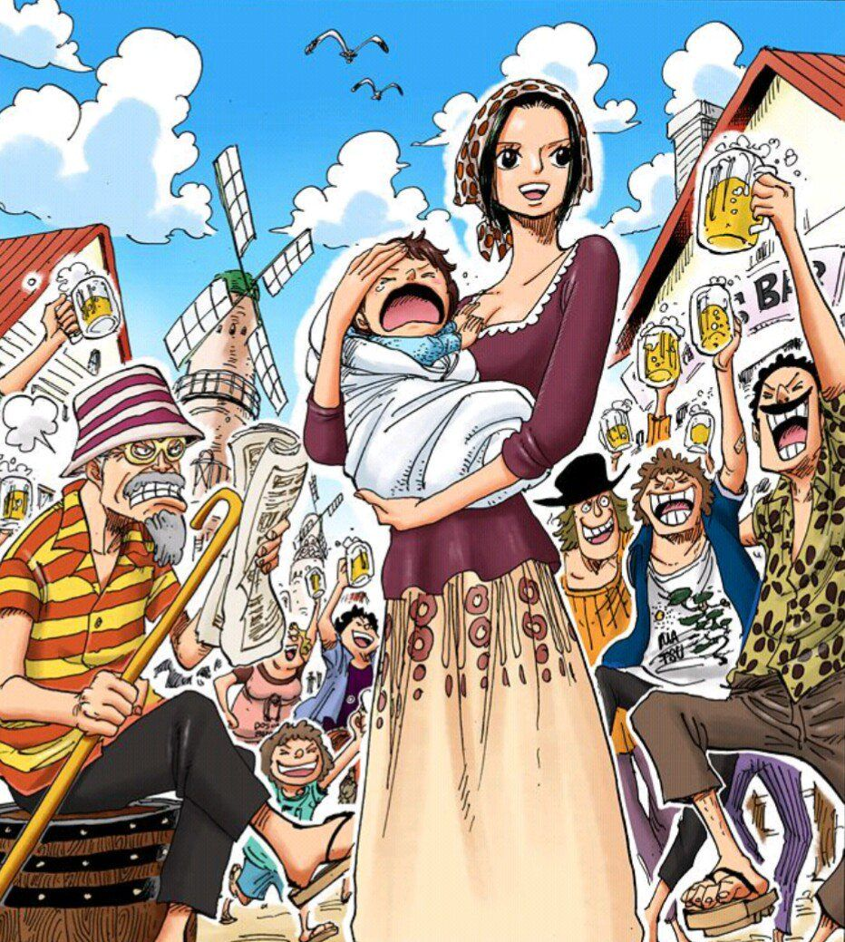 One Piece Chapter 615