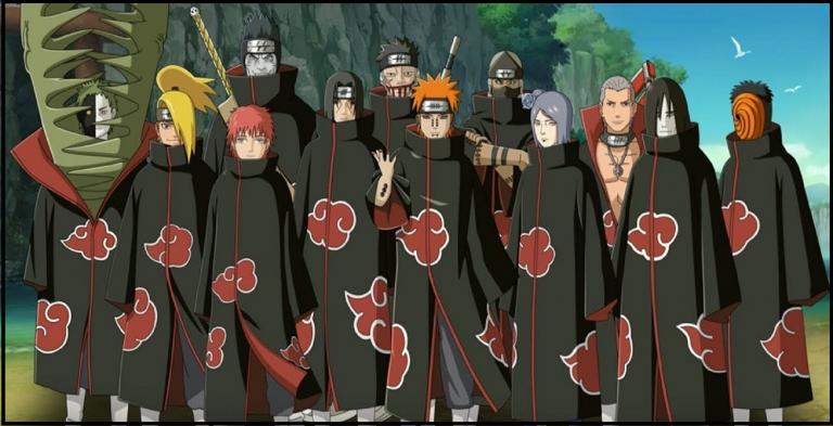 Top 10 Most Powerful Akatsuki Members