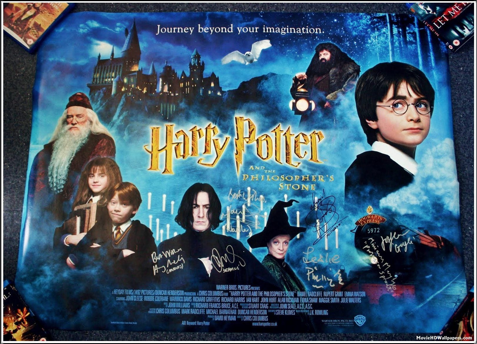 Harry Potter and the Philosopher's Stone (2001) Poster and All The Lead Actors