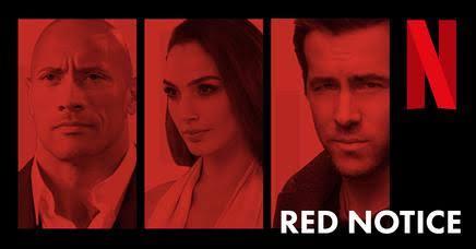 Red Notice cast