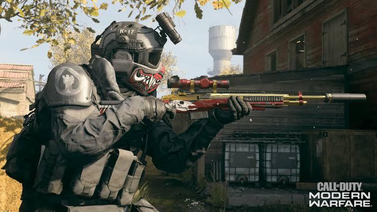 Call of Duty Modern Warfare Velikan