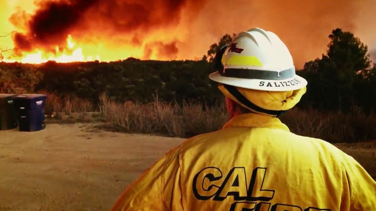 Discovery's Cal Fire- The story of California Forest Fire, 2020
