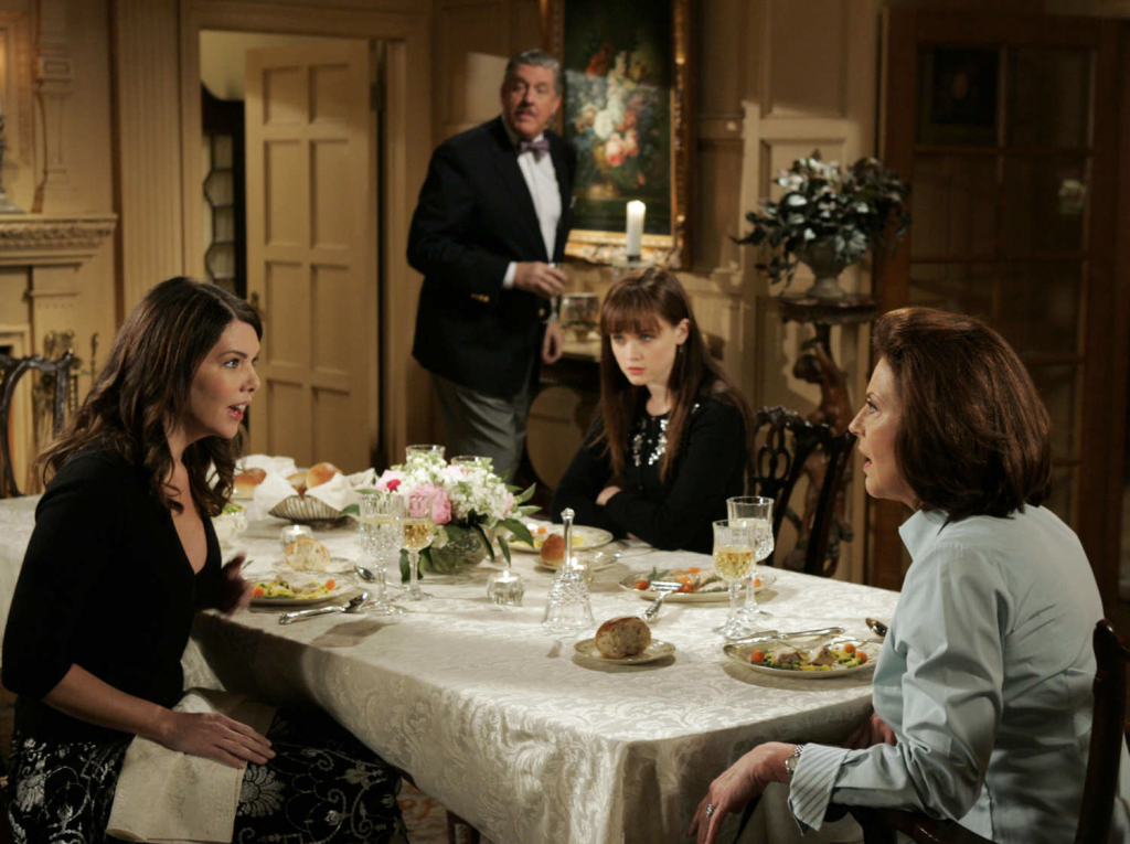 Gilmore Girls Friday Night's Alright for Fighting