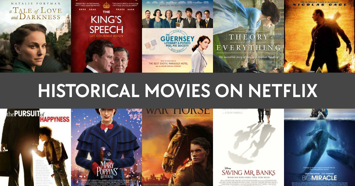 historical movies to watch on netflix