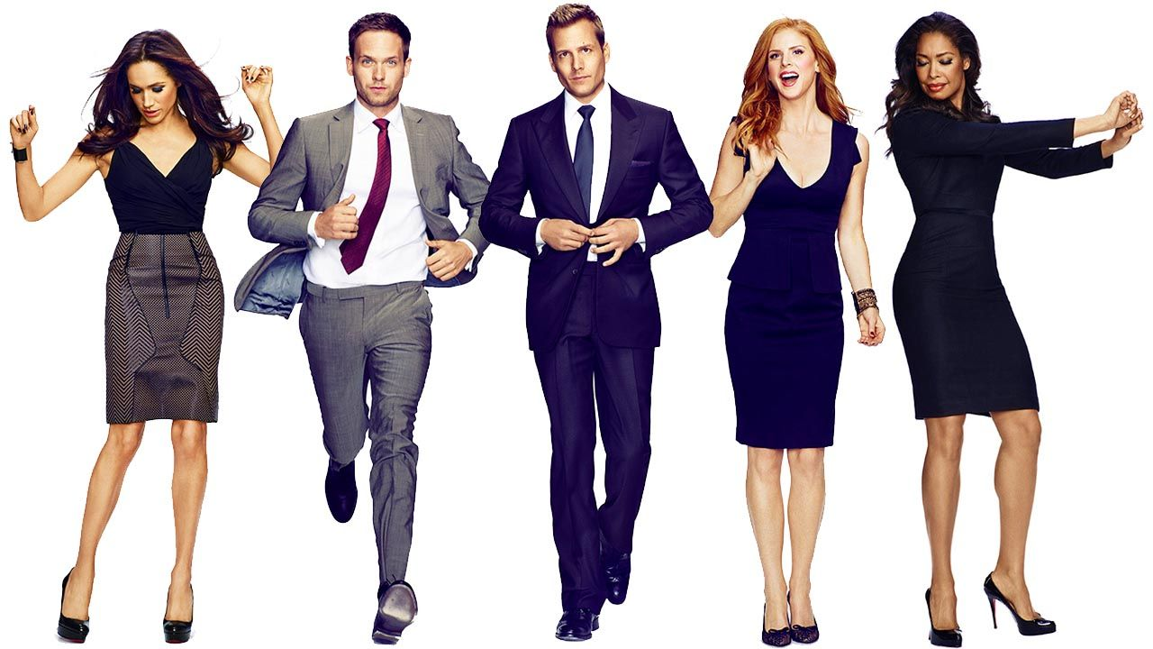 Lead cast of Suits