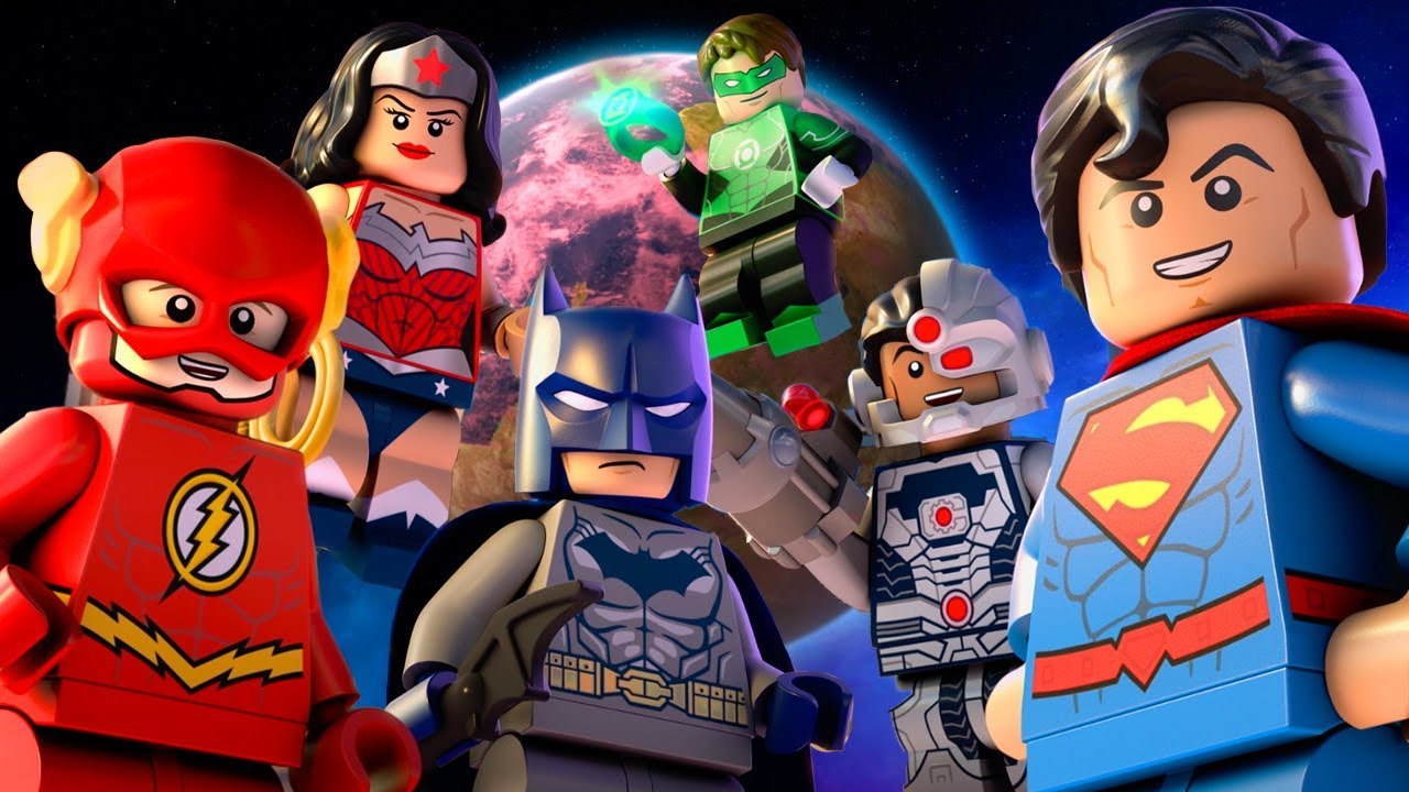 Lego version of the DC characters