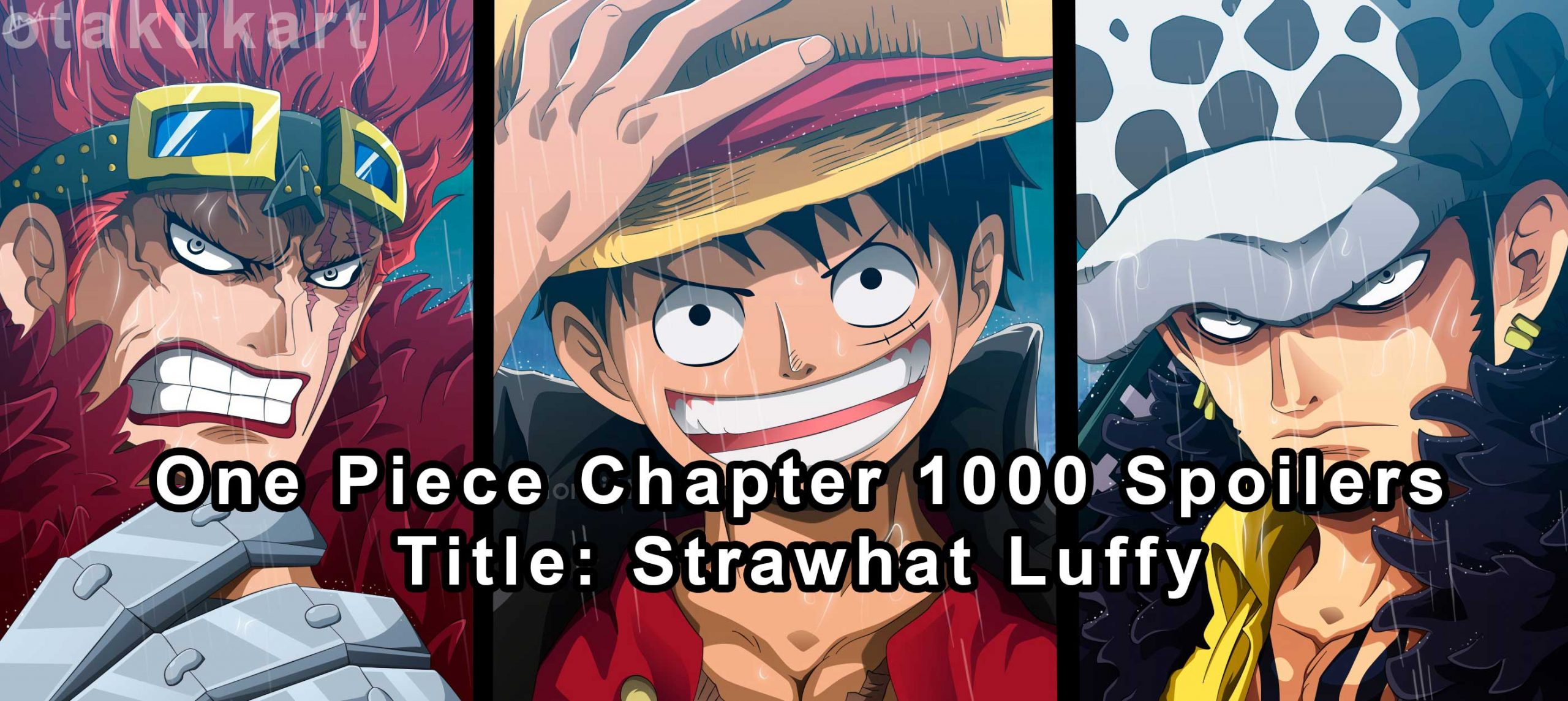 one piece chapter 1000 spoilers
