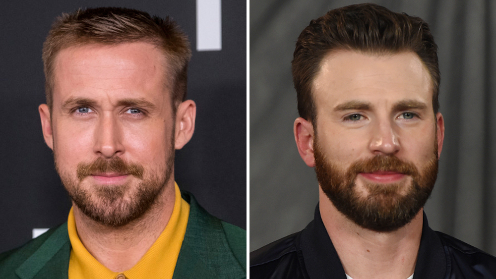 Ryan Gosling and Chris Evans paired against each other
