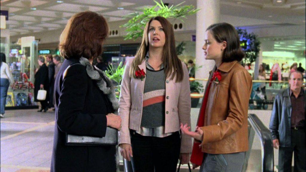 Gilmore Girls Scene in a Mall