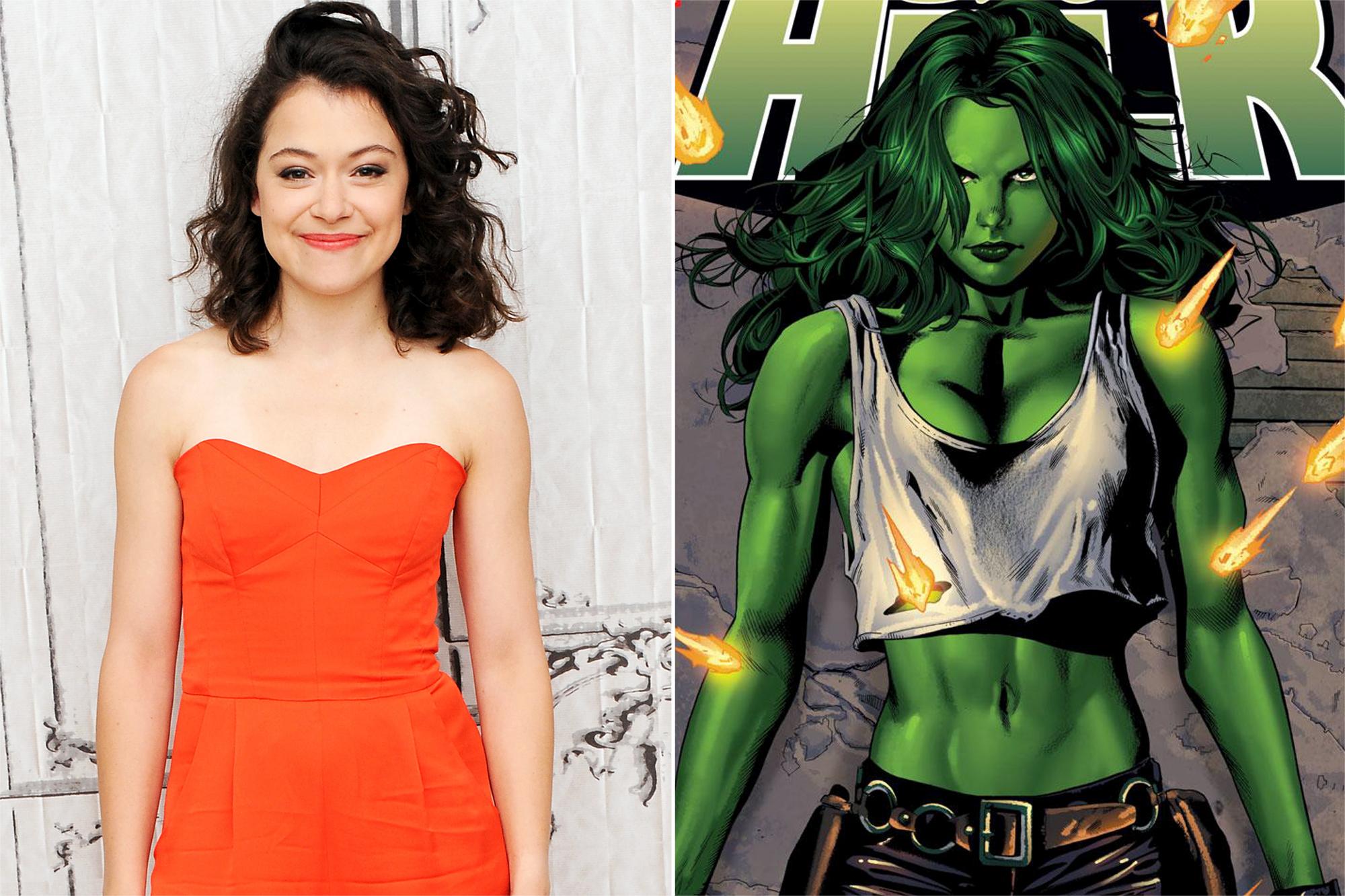 Tatiana Maslany- Marvel's She-Hulk