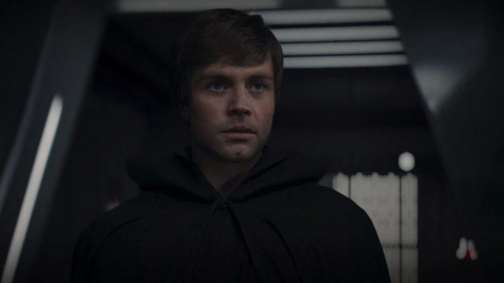 The Mandalorian Luke Skywalker