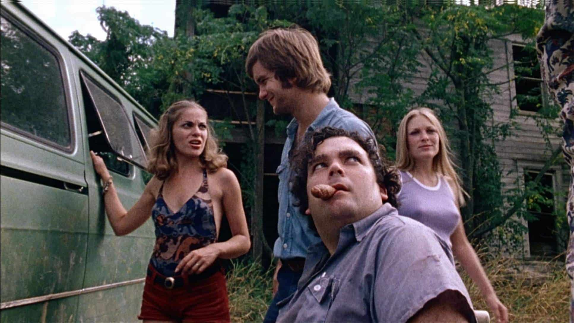 The Texas Chain Saw Massacre- The group of young individuals