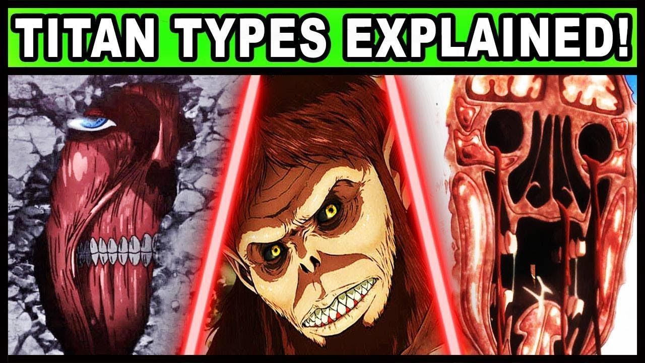 Types of Titan in Attack of Titan