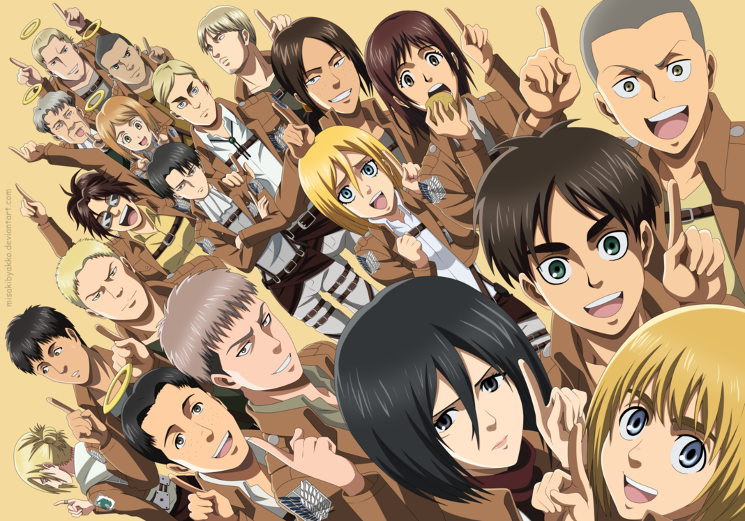 most powerful characters on the Attack on Titans anime