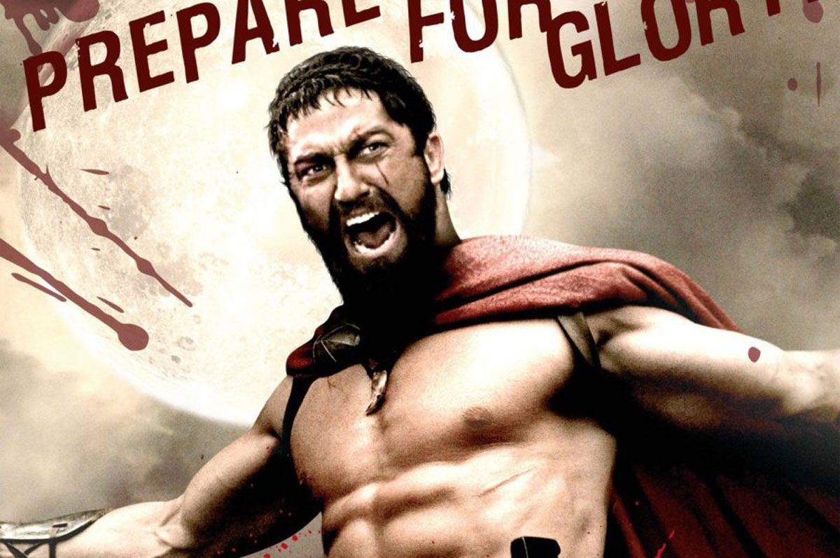 300 by Gerald Butler