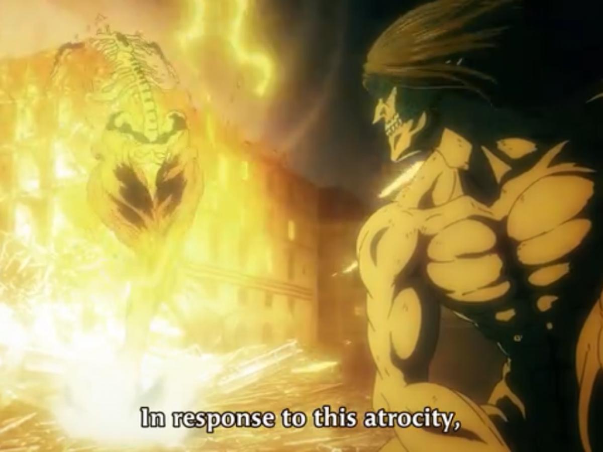 Anime Review Attack On Titan Season 4 Episode 5 Otakukart attack on titan season 4 episode 5