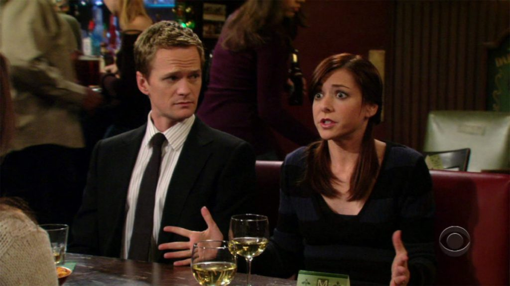 Barney and Lily