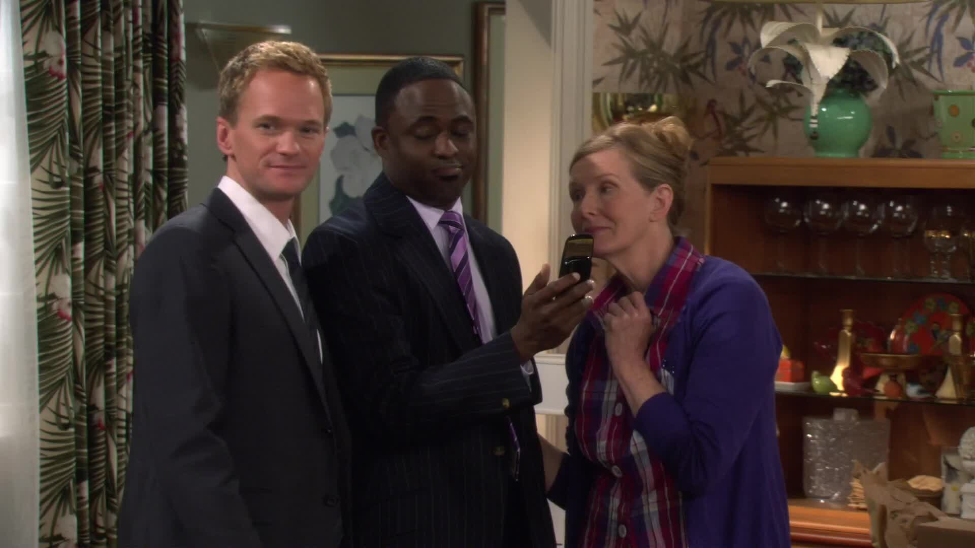 Barney and his brother, James find out their potential father