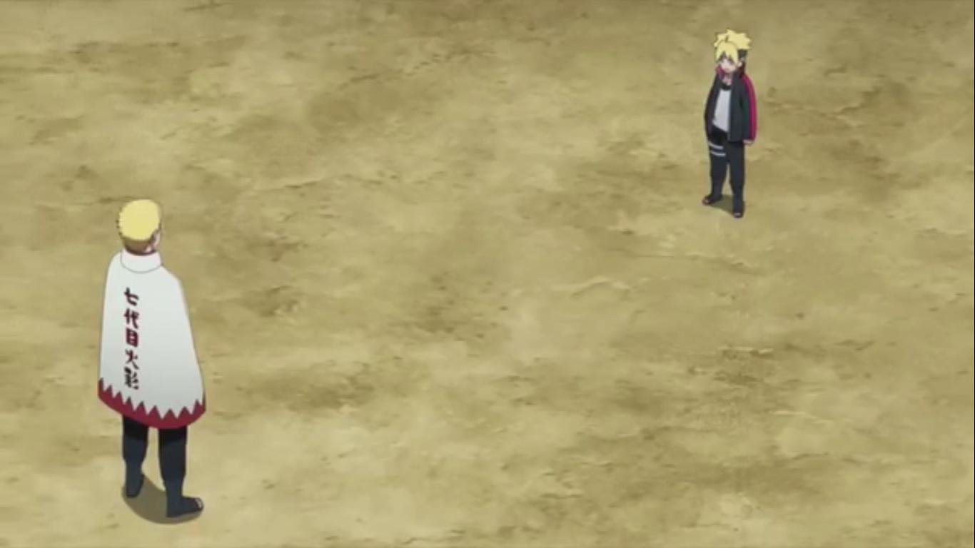 Boruto Trains With Naruto