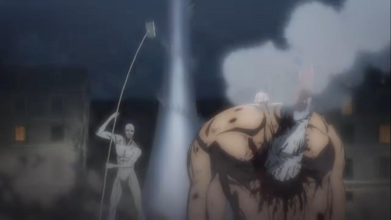 Attack on Titan Anime Shows Eren vs The Warhammer Titan - OtakuKart