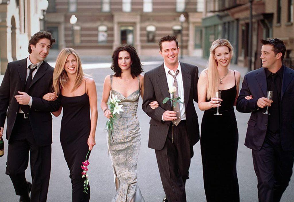 FRIENDS- an American sitcom