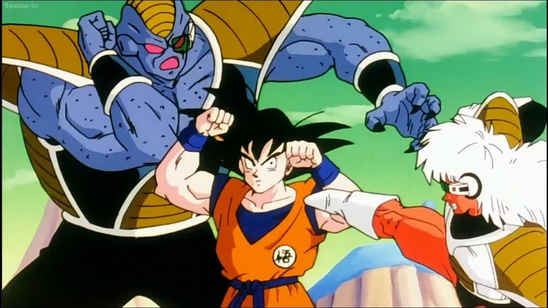 Goku vs the Ginyu Force