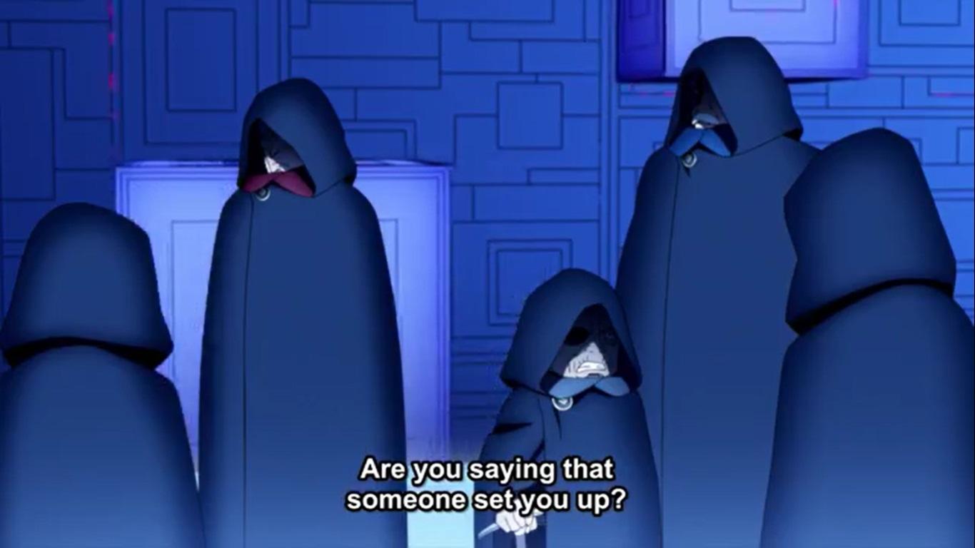 Boruto Anime - Kara Gathers