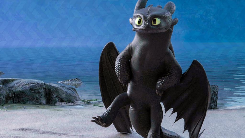 Night Fury - How to Train Your Dragon
