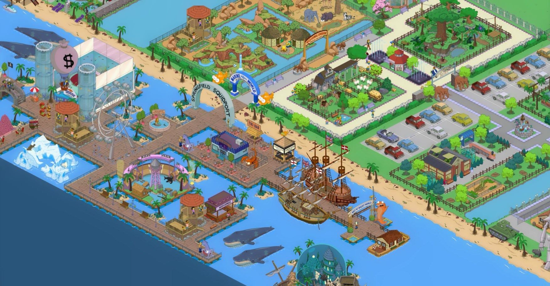 Simpsons Tapped Out - Mobile Games